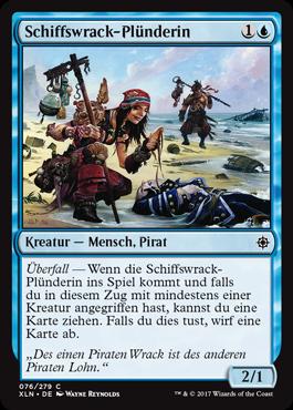 Schiffswrack-Plünderin