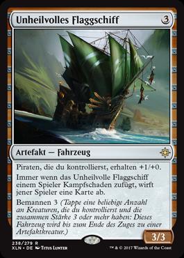 Unheilvolles Flaggschiff