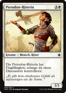 Pterodon-Ritterin