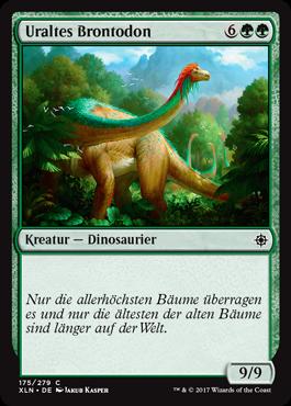 Uraltes Brontodon