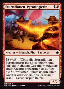 Sturmflotten-Pyromagierin