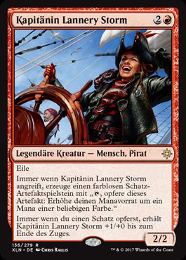 Kapitänin Lannery Storm