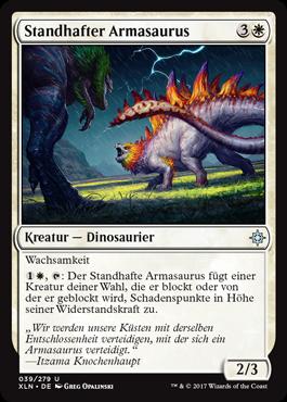 Standhafter Armasaurus