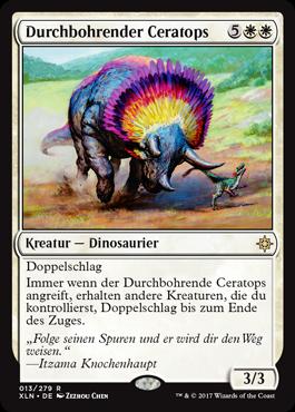 Durchbohrender Ceratops
