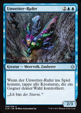 Unwetter-Rufer