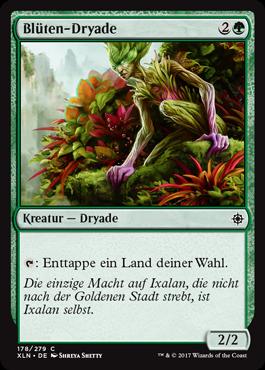 Blüten-Dryade
