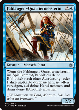 Fahlaugen-Quartiermeisterin