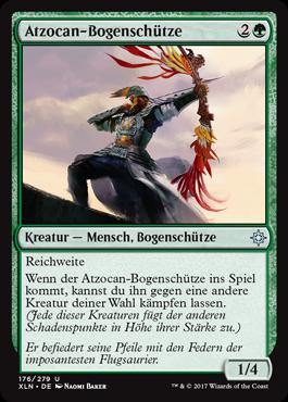 Atzocan-Bogenschütze