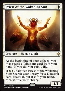 覚醒の太陽の神官
