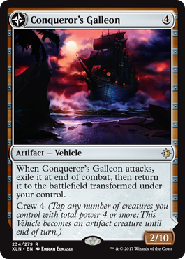 Conqueror's Galleon