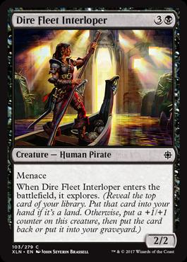 Dire Fleet Interloper