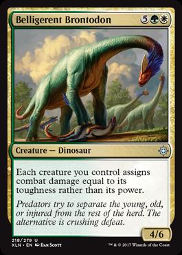 Belligerent Brontodon