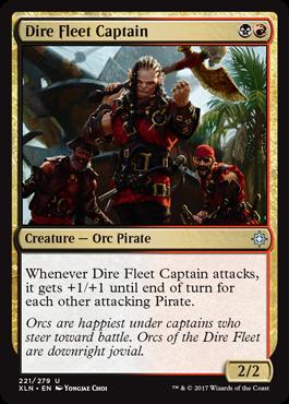 凶兆艦隊の船長