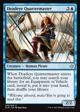 巧射艦隊の操舵手