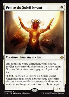 Prêtre du Soleil levant