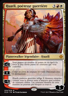 Huatli, poétesse guerrière