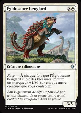 Égidosaure beuglard