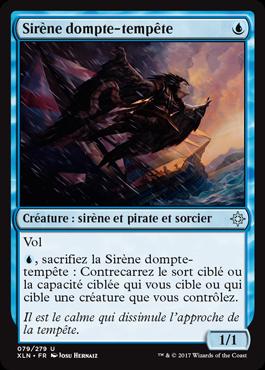 Sirène dompte-tempête