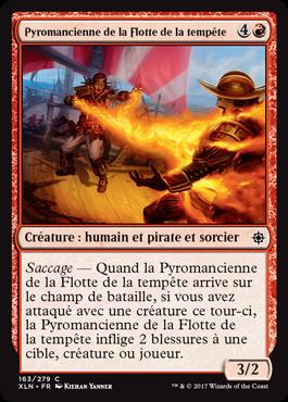Pyromancienne de la Flotte de la tempête