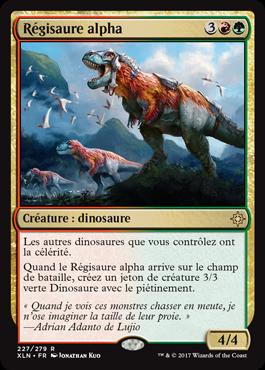 Régisaure alpha