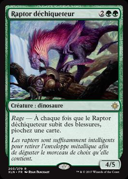 Raptor déchiqueteur