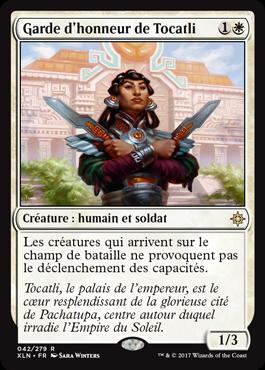 Garde d'honneur de Tocatli