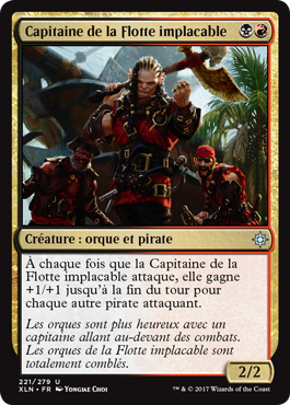 Capitaine de la Flotte implacable