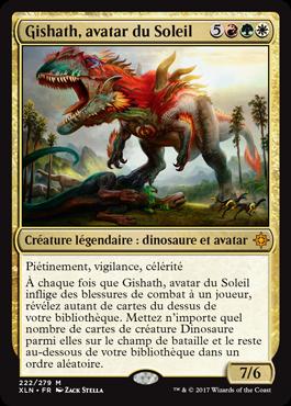 Gishath, avatar du Soleil