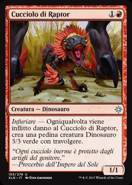 Cucciolo di Raptor