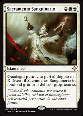 Sanguinary Sacrament