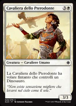 Cavaliera dello Pterodonte