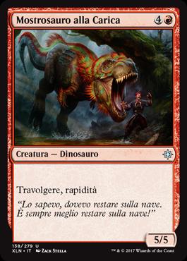 Mostrosauro alla Carica