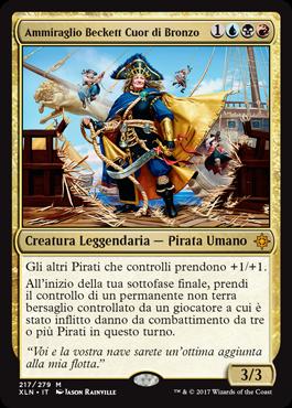 Ammiraglio Beckett Cuor di Bronzo