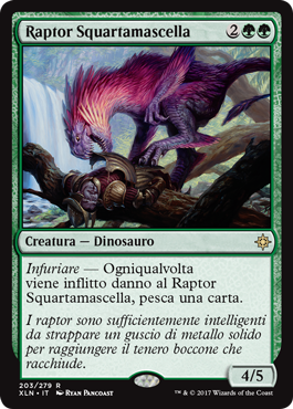 Raptor Squartamascella