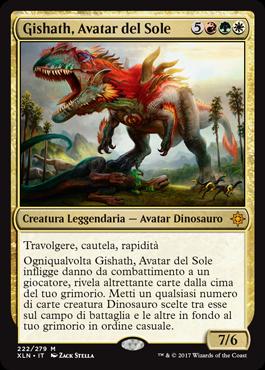 Gishath, Avatar del Sole