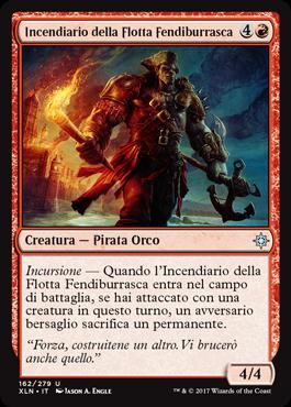 Incendiario della Flotta Fendiburrasca