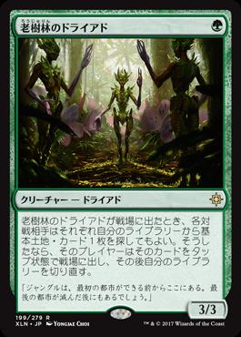 老樹林のドライアド