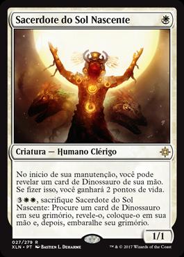 Sacerdote do Sol Nascente