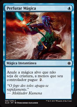 Perfurar Mágica
