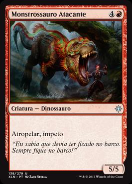 Monstrossauro Atacante