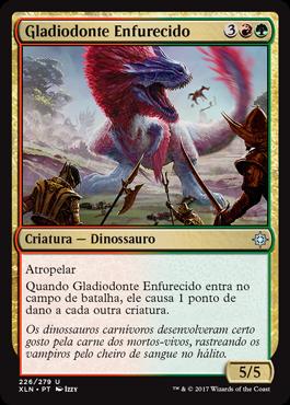 Gladiodonte Enfurecido