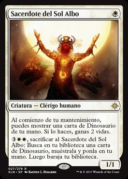 Sacerdote del Sol Albo