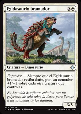 Egidasaurio bramador