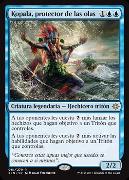 Kopala, protector de las olas