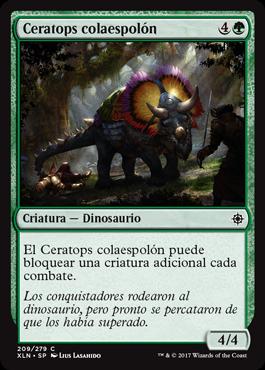 Ceratops colaespolón