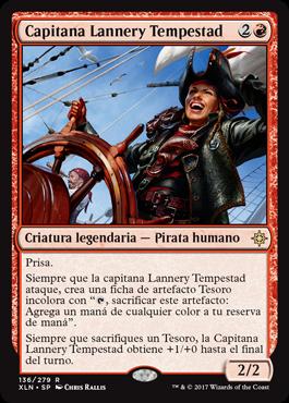 Capitana Lannery Tempestad