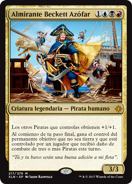 Almirante Beckett Azófar
