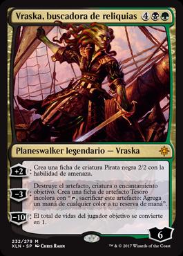 Vraska, buscadora de reliquias