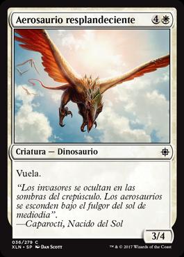 Aerosaurio resplandeciente