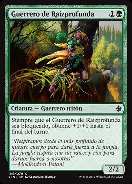 Guerrero de Raizprofunda